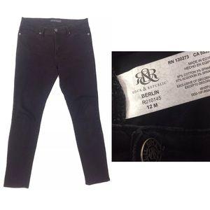 Rock & Republic Women's Jeans 12M Berlin Black