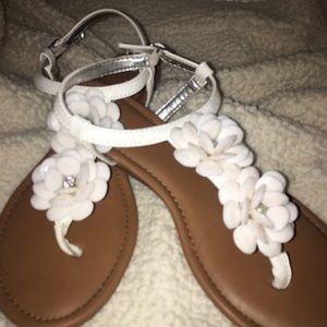 • Nordstrom's Rampage Flower Sandals•