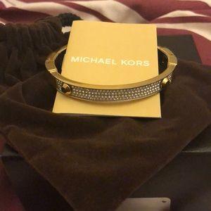 Michael Kors Pave Hinge Bracelet