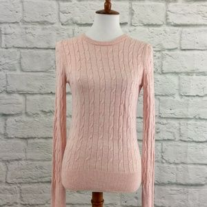 Cable Knit Sweater                           <183>