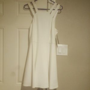 White Strappy Boutique Dress