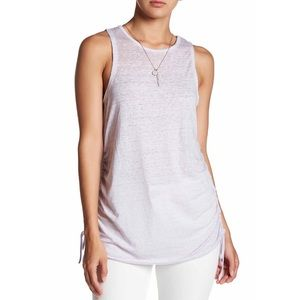 🌟Wild Pearl🌟Side Ruched xxs tank