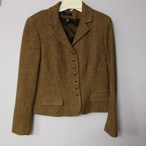 Chaps wool blend jacket,  sizeM