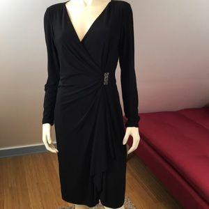 American Living Black Elegant Marcasite Dress 10