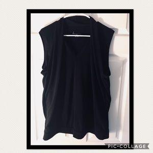 Used Lane Bryant blouse in black size 18/20
