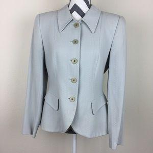 Giorgio Armani Le Collezioni Vintage Blue Blazer