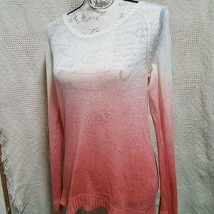 † H&M Gorgeous Women's Ombre Open Knit Sweater