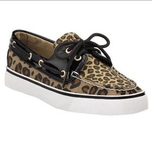Sperry Top-Sider Biscayne Leopard Boat Shoes