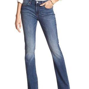 Banana Republic slim boot cut jeans size 29/P