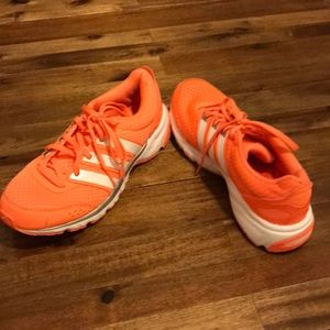 Adidas Neon Orange Adiprene Sneakers