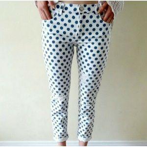 Zara Polka Dot Jeans