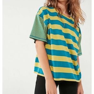 • Urban Outfitters Boston Stripped Tee •