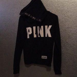XS pink hoodie