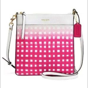 Coach white pink purse, Brand new with tags