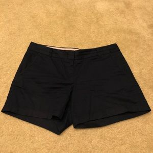 J Crew navy khaki shorts in size 8