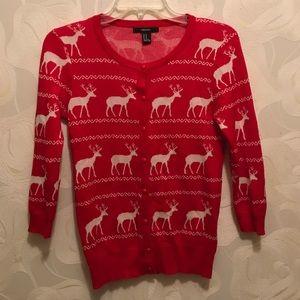 Forever 21 Reindeer Christmas Sweater