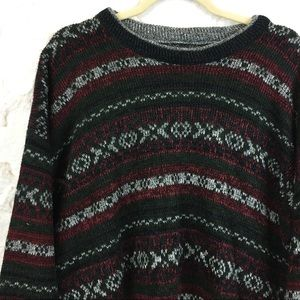 90s Vintage Soft Knit Holiday Christmas Sweater