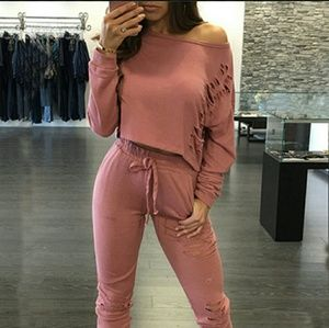 Pants - 2 piece set long sleeve suit BUY 1 GET 1 FREE