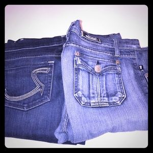 Rock and Republic jeans! Two pairs!