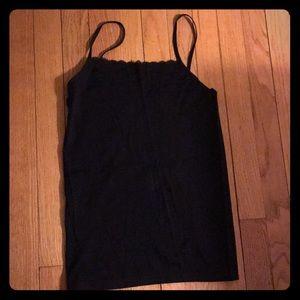 🆕 Black lace front cami