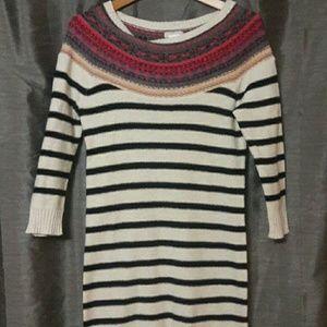 Fun sweater dress