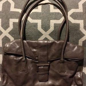 Hobo International Taupe Satchel Handbag