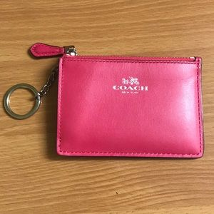 Coach credit card key chain