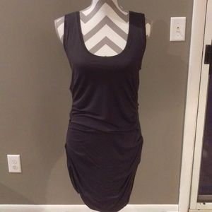 CAbi Style#586 Grey Ruched Tunic