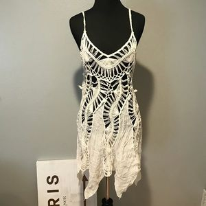 Woven Beach Cover Up