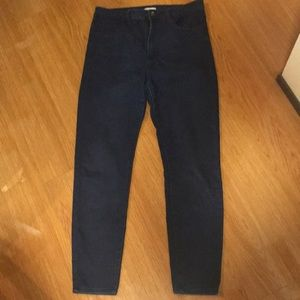 Skinny jeans high waisted