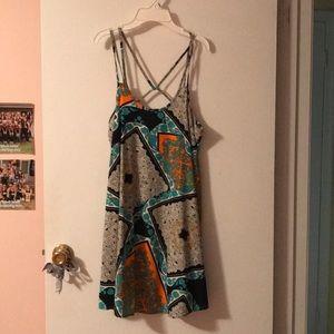 Dresses & Skirts - Abstract Design Dress