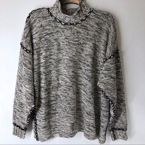 Mac & Jac | Gray Knit Sweater