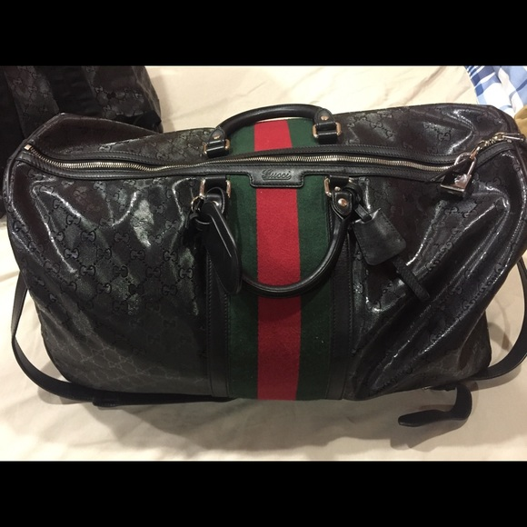 a1c08f96e88d Gucci Bags | Authentic Duffle Travel Bag | Poshmark