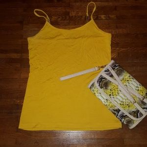 Soft Adjustable Spaghetti Strap Tank