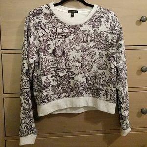 J. Crew Printed Sweatshirt