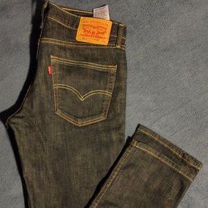 Levi's 511 Slim Blue Jeans Men's Size 32X34