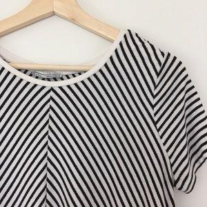 Zara Striped Swing Top