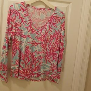 Lilly Pulitzer long sleeved top
