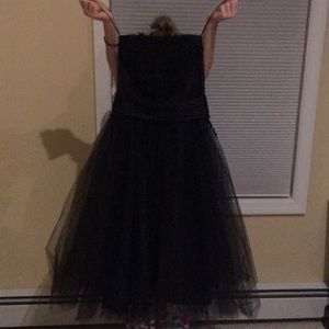 STUNNING ABS Tulle and Lace Gown size 8-NYE ready!
