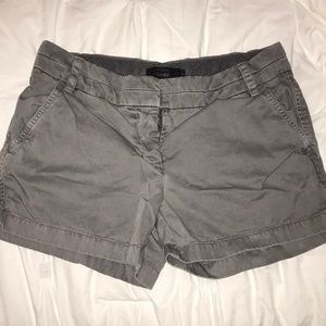 J. Crew Grey Chino Shorts