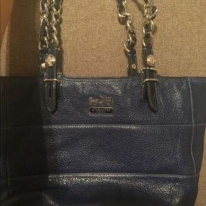 Authentic Navy Coach Bag