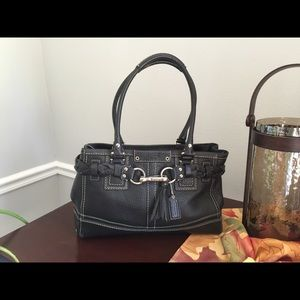 Coach Pebbled Leather Bag ❤️