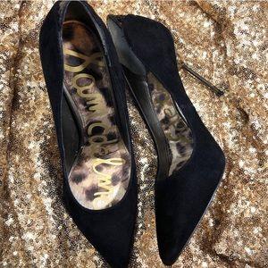 Sam Edelman DANIELLE suede pointed heels