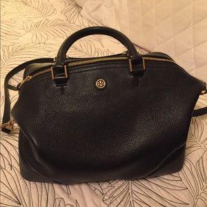Tory Burch black leather purse