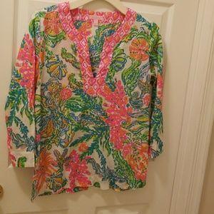 Lily Pulitzer cotton tunic
