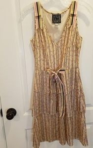 Cynthia Rowley dress size 0. ruffles and ties