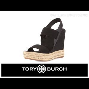 Offers—- Tory Burch Wedges- Preowned