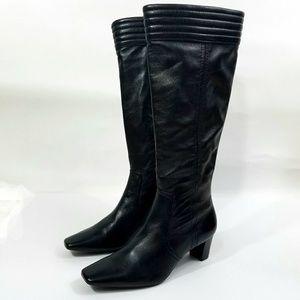 Cole Haan Janna Tall Black Boots
