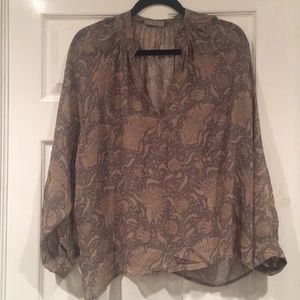 Vince floral pattern Blouse