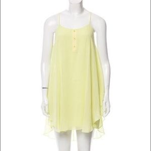 Camisole silk dress by Alice and Olivia.